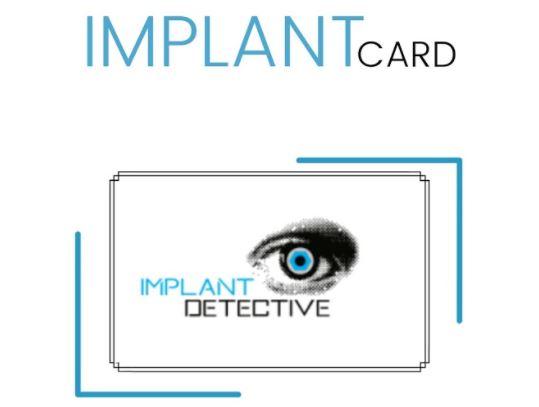 implant card